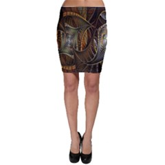 Mosaics Stained Glass Bodycon Skirt