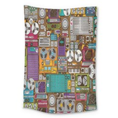 Rol The Film Strip Large Tapestry