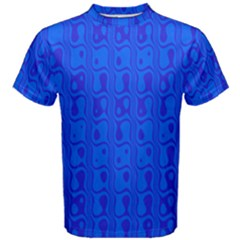 Blue Men s Cotton Tee