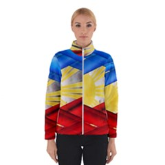 Blue Red Yellow Colors Winterwear