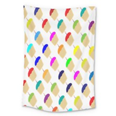 Cup Cakes Candles Large Tapestry
