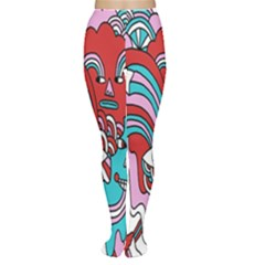 Face Mask Sinister Women s Tights