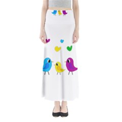 Bird family Maxi Skirts