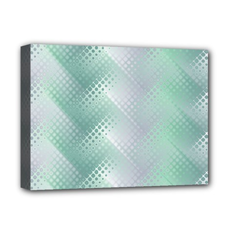 Background Bubblechema Perforation Deluxe Canvas 16  X 12
