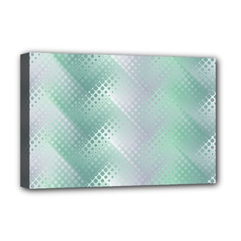 Background Bubblechema Perforation Deluxe Canvas 18  X 12
