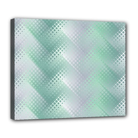 Background Bubblechema Perforation Deluxe Canvas 24  X 20