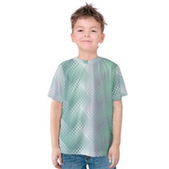 Background Bubblechema Perforation Kids  Cotton Tee
