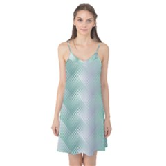 Background Bubblechema Perforation Camis Nightgown