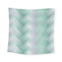 Background Bubblechema Perforation Square Tapestry (small)