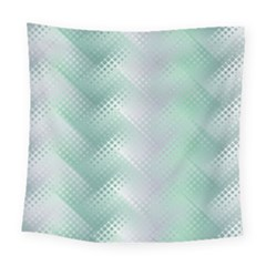 Background Bubblechema Perforation Square Tapestry (large)
