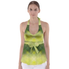 Background Textures Pattern Design Babydoll Tankini Top