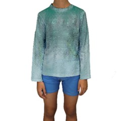 Background Texture Structure Kids  Long Sleeve Swimwear