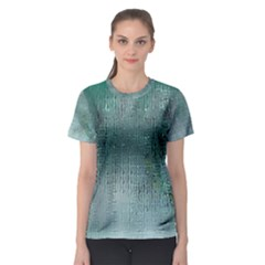 Background Texture Structure Women s Sport Mesh Tee