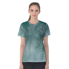 Background Texture Structure Women s Cotton Tee