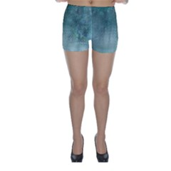 Background Texture Structure Skinny Shorts