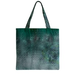 Background Texture Structure Zipper Grocery Tote Bag
