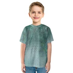 Background Texture Structure Kids  Sport Mesh Tee