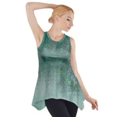 Background Texture Structure Side Drop Tank Tunic