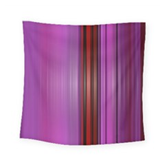 Purple Line Rainbow Square Tapestry (small)