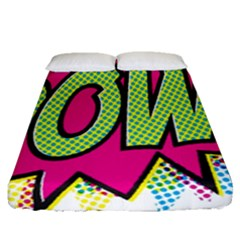 Pow Fitted Sheet (queen Size)