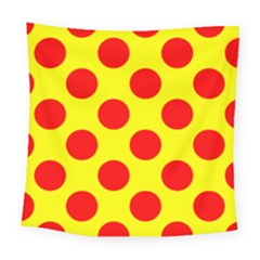 Red Circle Yellow Square Tapestry (large)