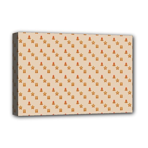 Christmas Wrapping Paper Deluxe Canvas 18  X 12