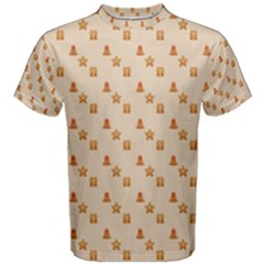 Christmas Wrapping Paper Men s Cotton Tee