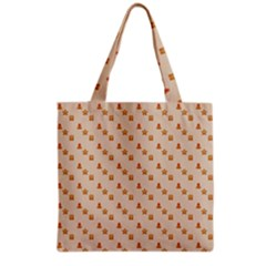 Christmas Wrapping Paper Grocery Tote Bag