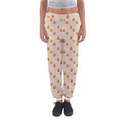 Christmas Wrapping Paper Women s Jogger Sweatpants
