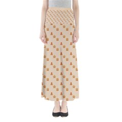 Christmas Wrapping Paper Maxi Skirts