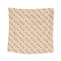 Christmas Wrapping Paper Square Tapestry (small)