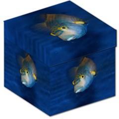 Fish Blue Animal Water Nature Storage Stool 12