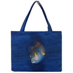 Fish Blue Animal Water Nature Mini Tote Bag