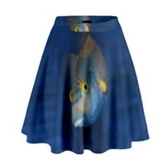 Fish Blue Animal Water Nature High Waist Skirt