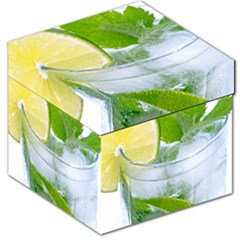 Cold Drink Lime Drink Cocktail Storage Stool 12