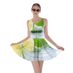 Cold Drink Lime Drink Cocktail Skater Dress