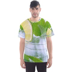 Cold Drink Lime Drink Cocktail Men s Sport Mesh Tee