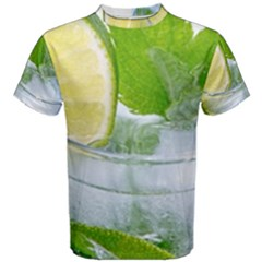 Cold Drink Lime Drink Cocktail Men s Cotton Tee