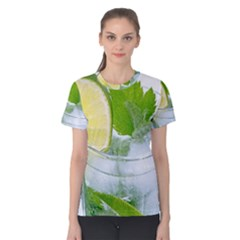 Cold Drink Lime Drink Cocktail Women s Cotton Tee