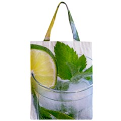 Cold Drink Lime Drink Cocktail Classic Tote Bag