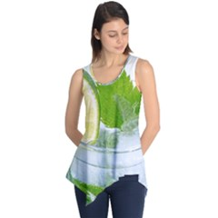 Cold Drink Lime Drink Cocktail Sleeveless Tunic