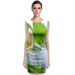 Cold Drink Lime Drink Cocktail Classic Sleeveless Midi Dress