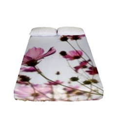 Flowers Plants Korea Nature Fitted Sheet (full/ Double Size)