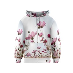 Flowers Plants Korea Nature Kids  Zipper Hoodie