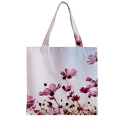 Flowers Plants Korea Nature Zipper Grocery Tote Bag