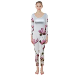 Flowers Plants Korea Nature Long Sleeve Catsuit