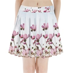 Flowers Plants Korea Nature Pleated Mini Skirt