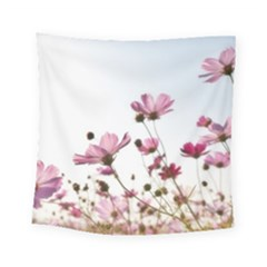 Flowers Plants Korea Nature Square Tapestry (small)