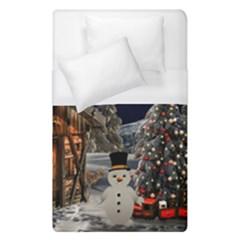 Christmas Landscape Duvet Cover (single Size)