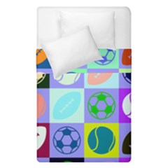 Sports Ball Duvet Cover Double Side (single Size)